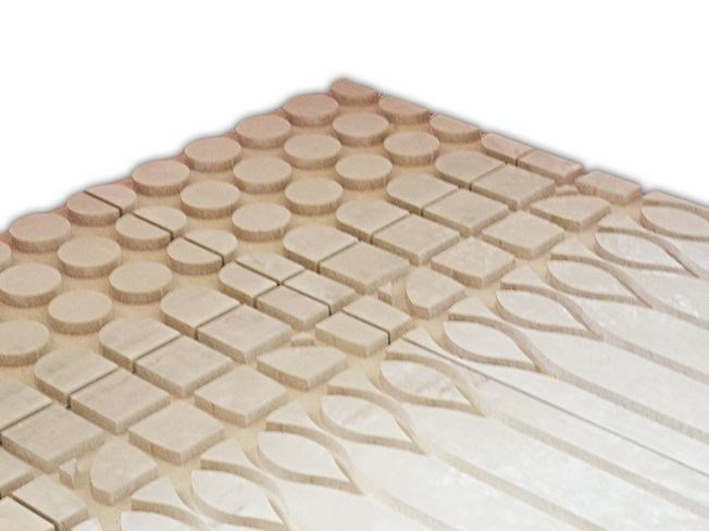 Wood-beton Radiant floor panel BetonRadiant® by BetonWood