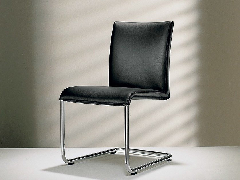 Cantilever leather chair D2-1 | Cantilever chair - Hülsta-Werke Hüls