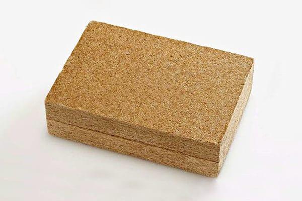 FiberTherm - Pannello di fibra di legno con valori di isolamento ottimali adatto per isolamenti termici in bioedilizia.