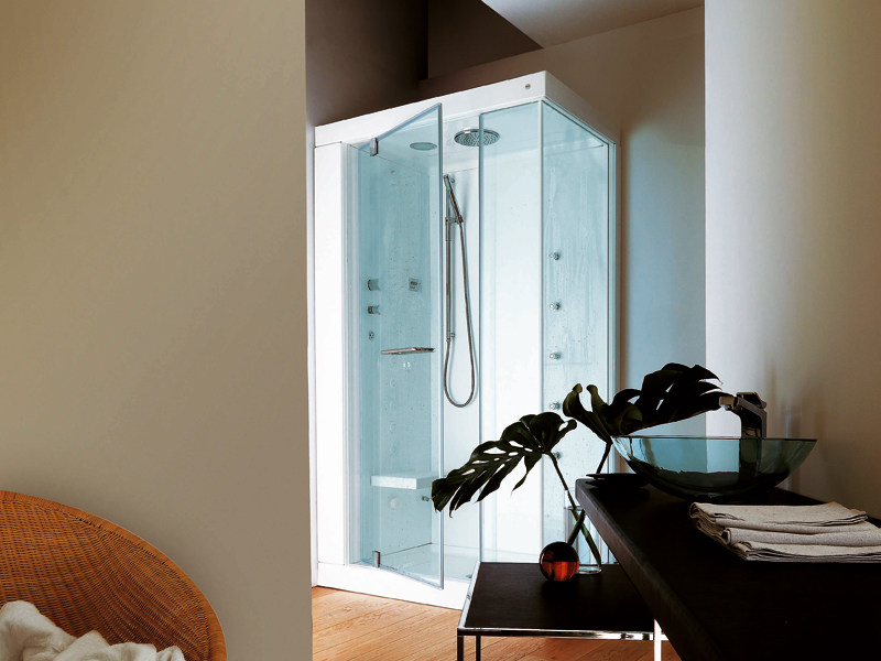Multifunction shower cabin ATOLLO BASE - Kos by Zucchetti