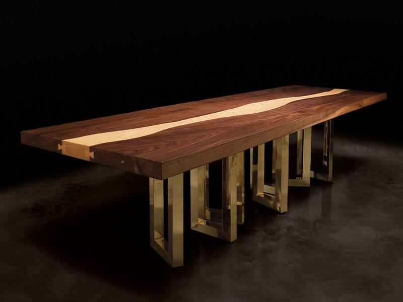 Tavolo in legno massello IL PEZZO 6  Tavolo - Il Pezzo Mancante