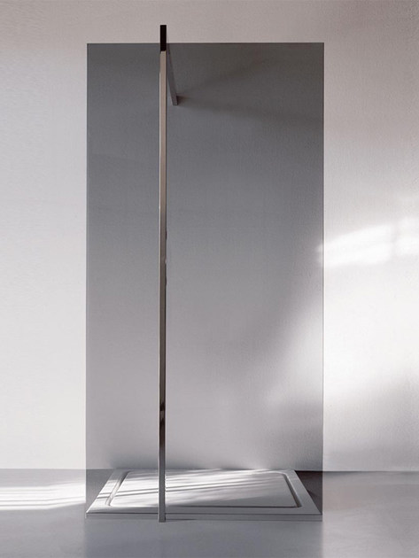Stainless Steel Shower system FLOOR 1 - Kos by Zucchetti