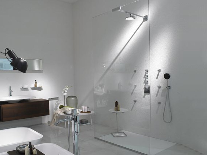 Rectangular shower system FARAWAY 2   Shower wall panel - Kos by Zucchetti