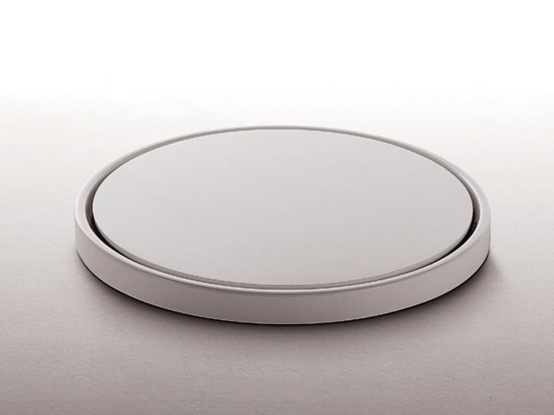 Round built-in methacrylate shower tray GEO TRAY 80 - Kos by Zucchetti