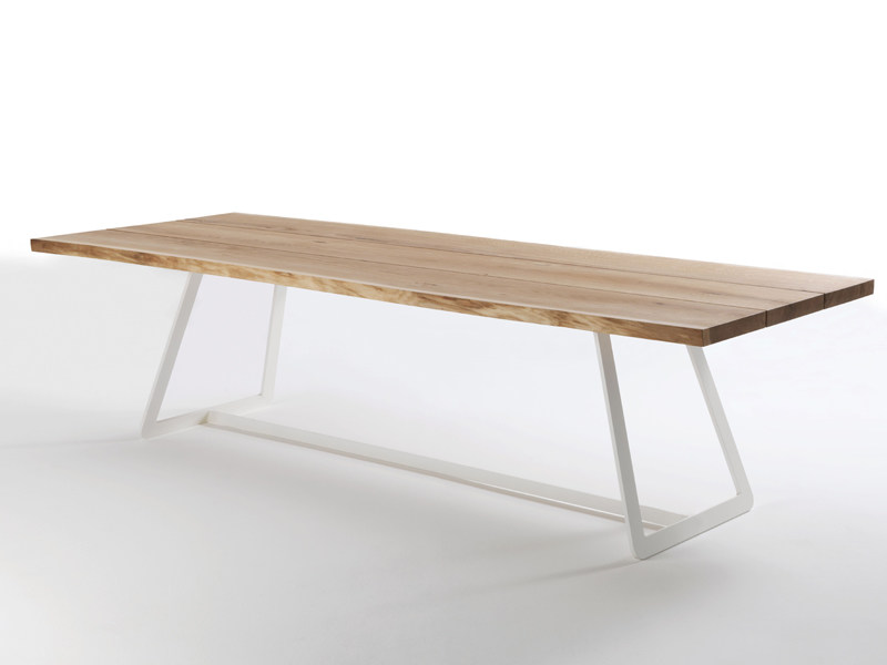 Solid wood table CALLE - Riva 1920