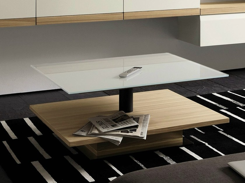 h henverstellbarer couchtisch aus lackiertem glas f r wohnzimmer ct 110 kollektion couchtische. Black Bedroom Furniture Sets. Home Design Ideas