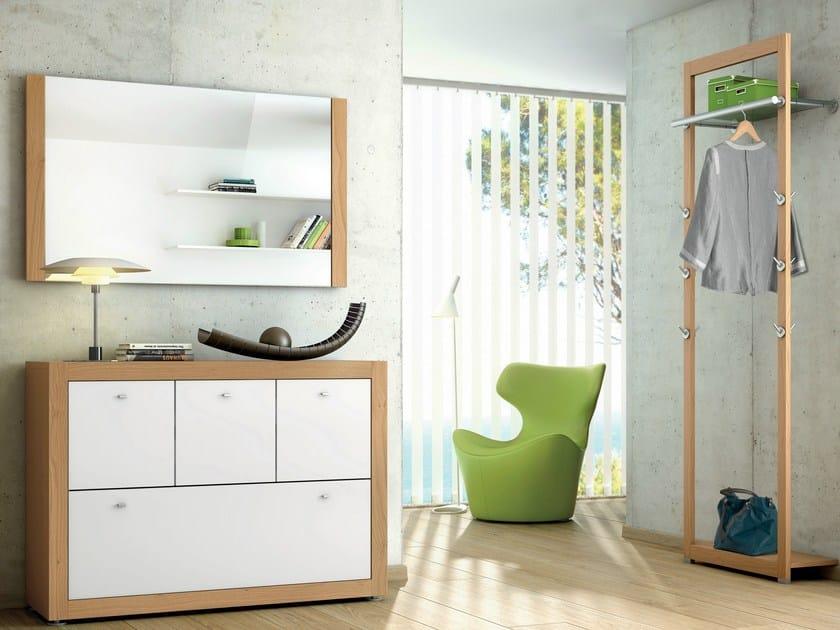 Lacquered oak hallway unit XELO | Hallway unit - Hülsta-Werke Hüls