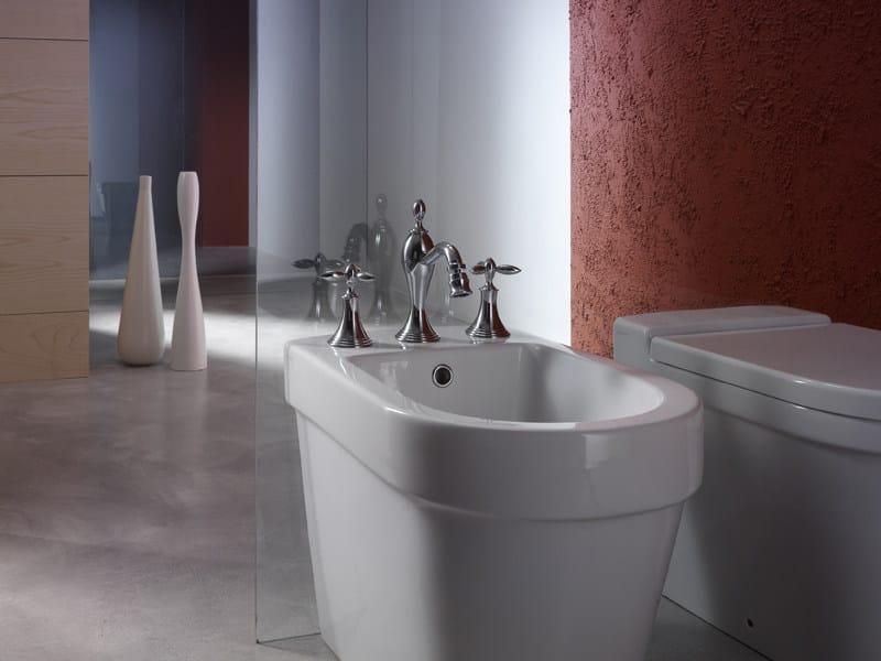 Rubinetto per bidet a 3 fori in stile classico collezione - Rubinetteria bagno gattoni ...