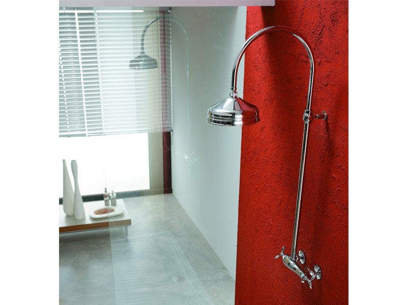 Shower panel with overhead shower TIMOR | Shower panel - Gattoni Rubinetteria