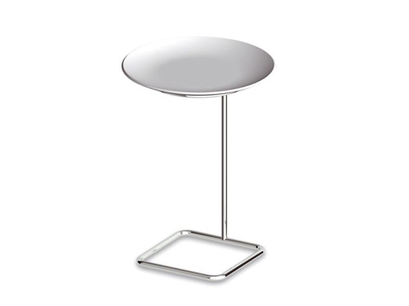 Height-adjustable metal coffee table FARAWAY | Height-adjustable coffee table - Kos by Zucchetti