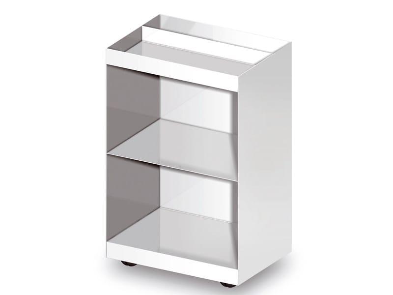 Metal bathroom cabinet with casters FARAWAY   Bathroom cabinet with casters - Kos by Zucchetti