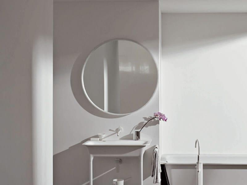 Specchio rotondo per bagno morphing specchio per bagno kos by zucchetti - Specchio bagno rotondo ...