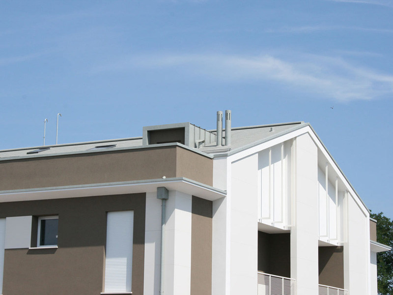 Ventilated roof system LARES® Classic by Mazzonetto