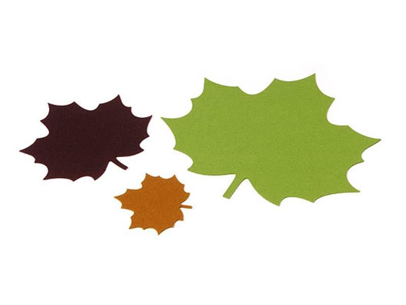 tischset aus filz maple leaf by hey sign. Black Bedroom Furniture Sets. Home Design Ideas