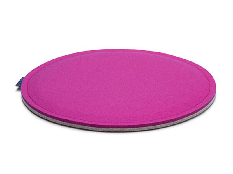 Round felt chair cushion MAUI by HEY-SIGN