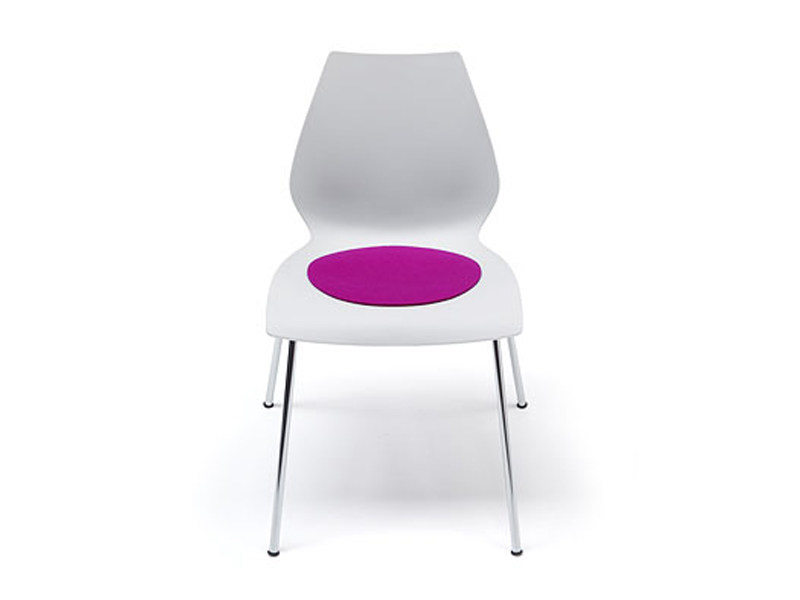 Cuscini rotondi per sedie. cuscino per sedia anguria rosso. image