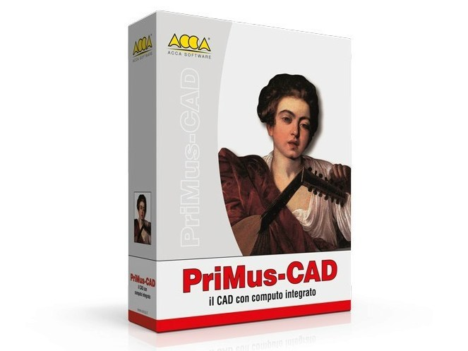 CAD with integrated calculation PriMus-CAD - ACCA software