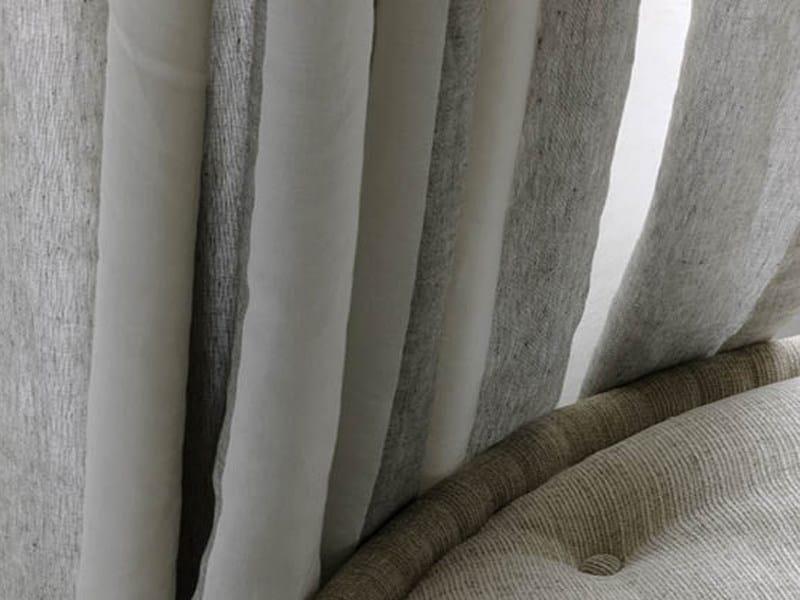 Linen fabric for curtains EDITO - Élitis