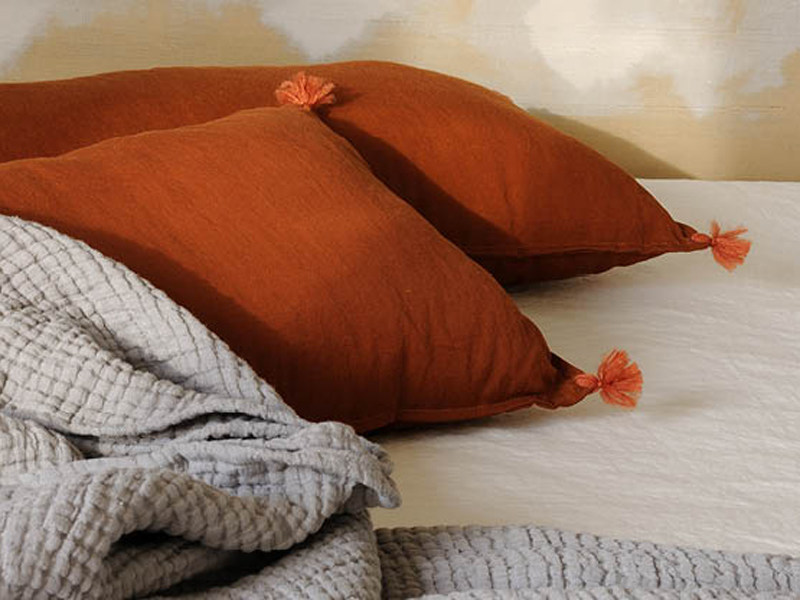 Linen upholstery fabric BOHEMIAN - Élitis