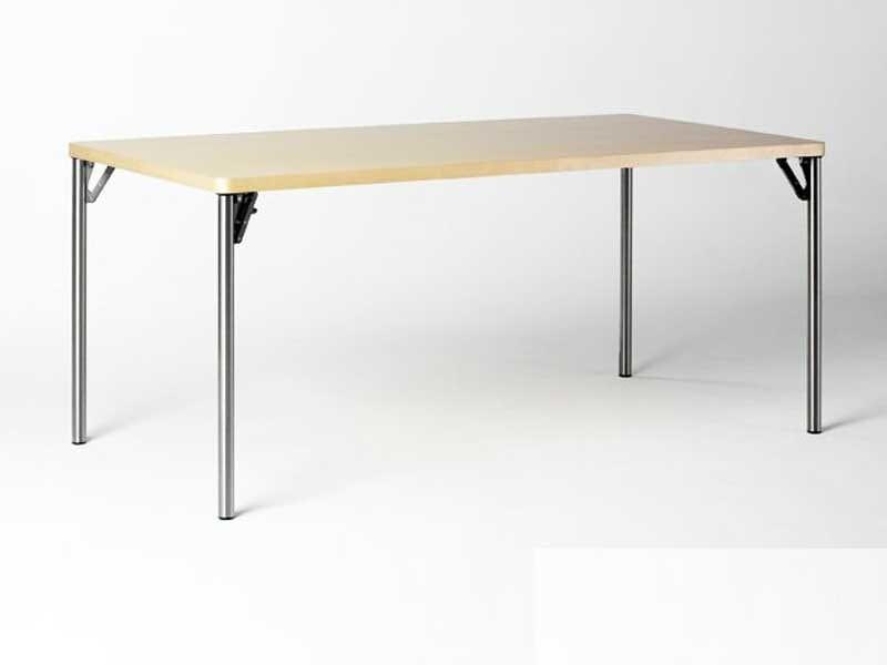 Tavolo pieghevole in hpl wogg 29 by wogg design atelier o for Tavolo hpl