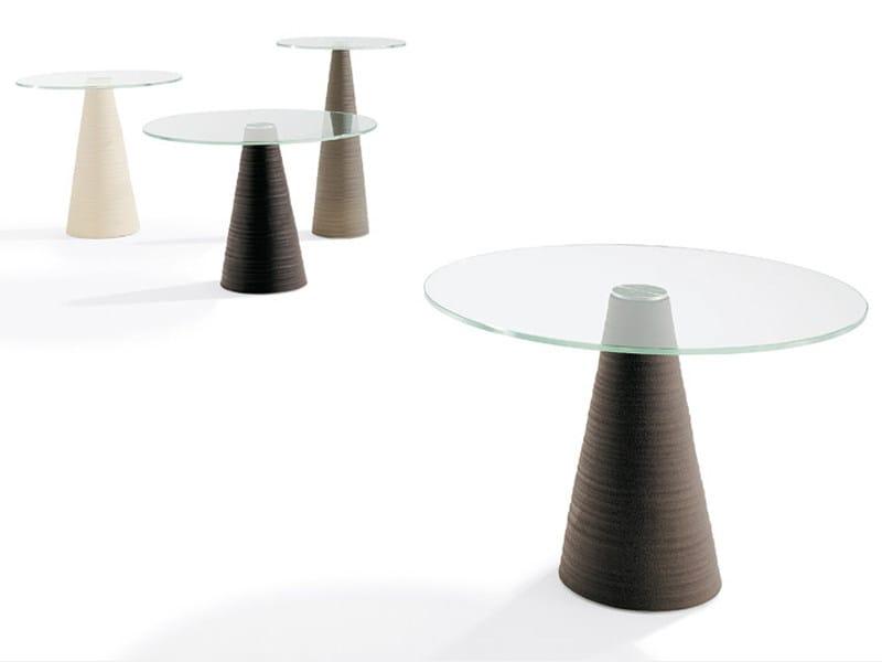 Glass coffee table ED - Draenert