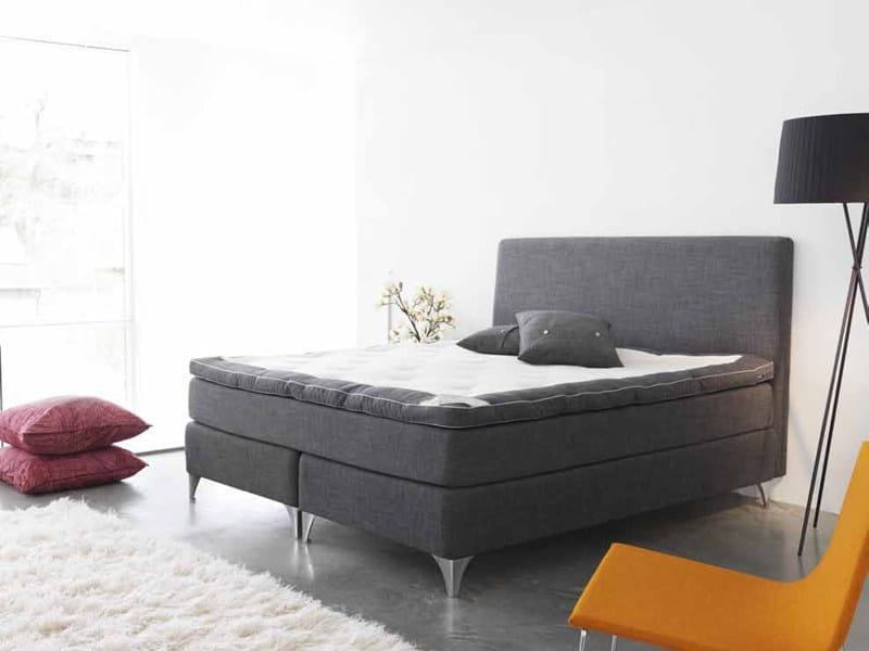 Upholstered double bed HÄRMANÖ - Carpe Diem Beds of Sweden