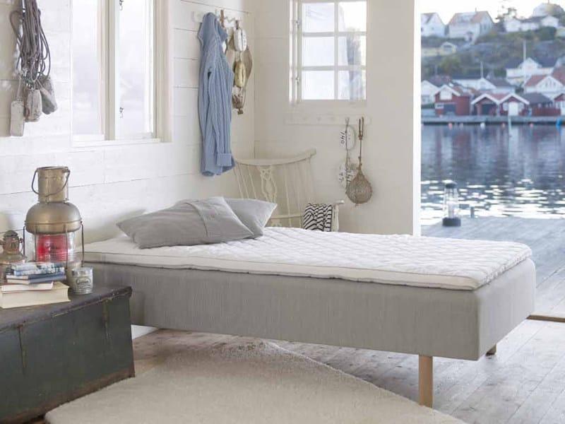 Upholstered single bed KOSTER - Carpe Diem Beds of Sweden