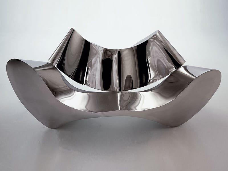 Steel sofa EUROPA - Draenert
