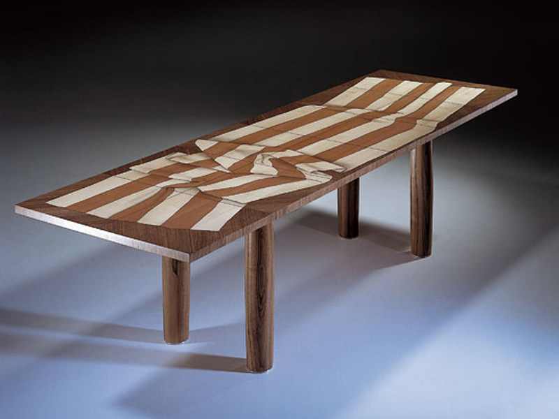 Rechteckiger esstisch aus holz arkadien kollektion for Tisch eins design studio