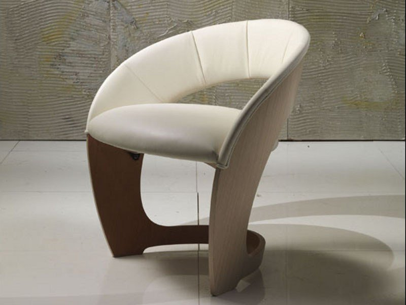 Armchair with armrests IRIDE | Armchair by Carpanelli Contemporary