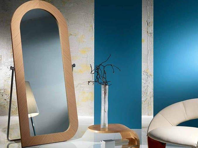 Framed freestanding mirror IRIDE | Mirror - Carpanelli Contemporary