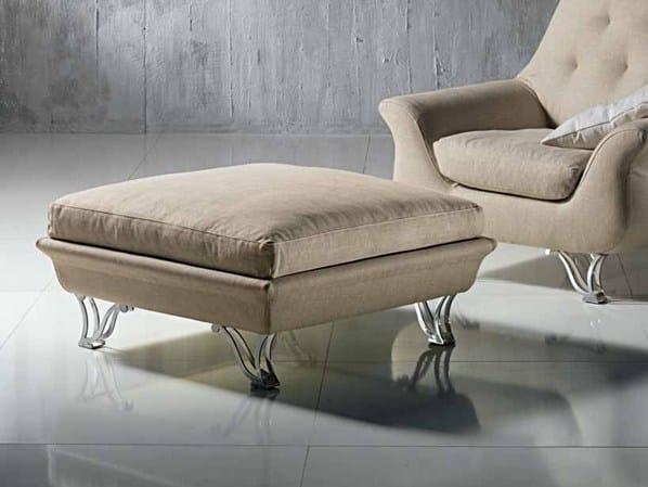Fabric footstool CHERUBINO | Footstool - Carpanelli Contemporary