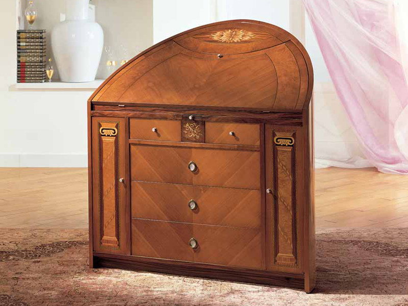 Neoclassical style cherry wood dresser TRUMEAU NEOCLASSICO - Carpanelli Classic