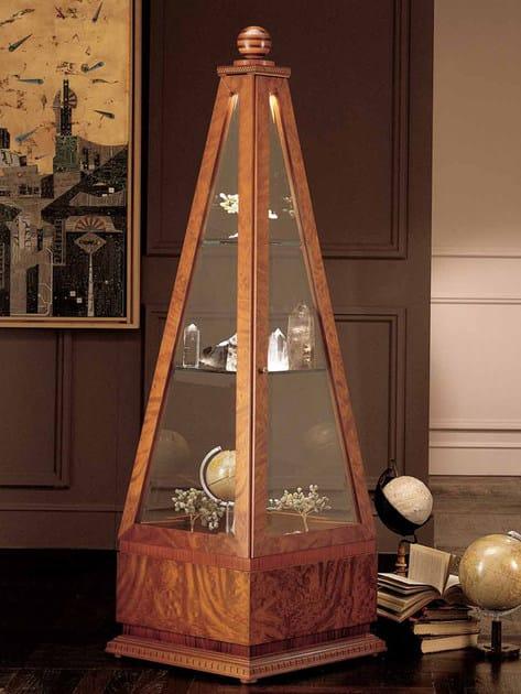 Briar display cabinet OBELISCO by Carpanelli Classic