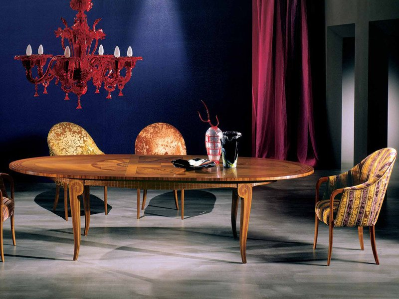 Extending oval table ARTE | Extending table by Carpanelli Classic