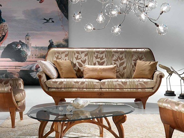 Walnut sofa CONFORT | Sofa - Carpanelli Classic