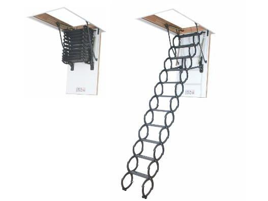Scissors loft ladder LST - Termoisolante - FAKRO