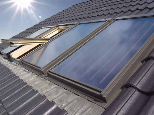 Solar collector Collettore solare SKW by FAKRO
