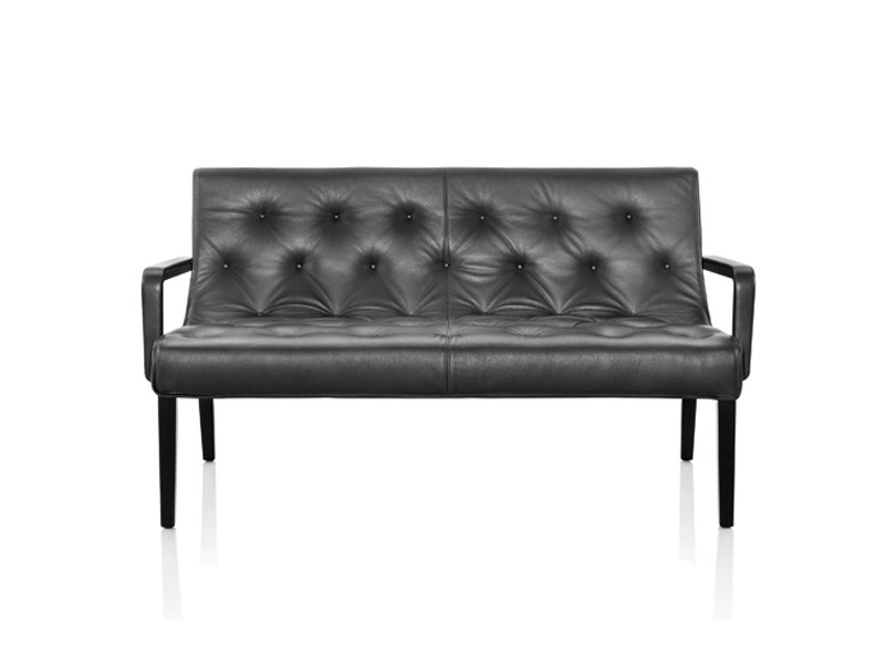 Leather sofa LESLIE | Sofa by Wittmann