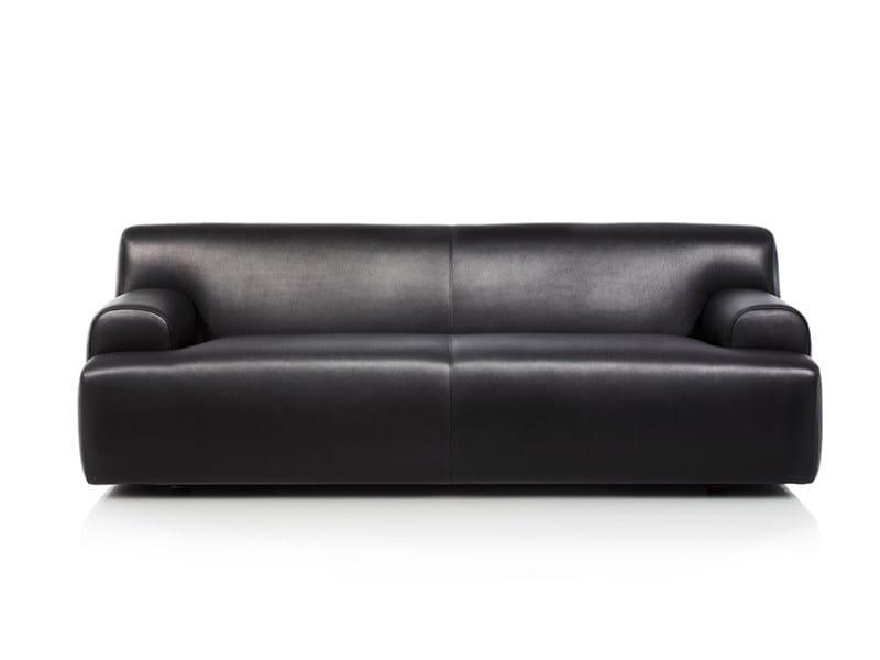 3 seater leather sofa ALEX - Wittmann
