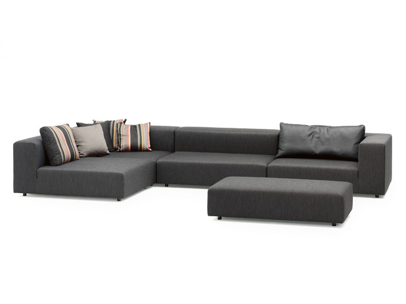 Sectional fabric sofa LOFT | Sofa - Wittmann
