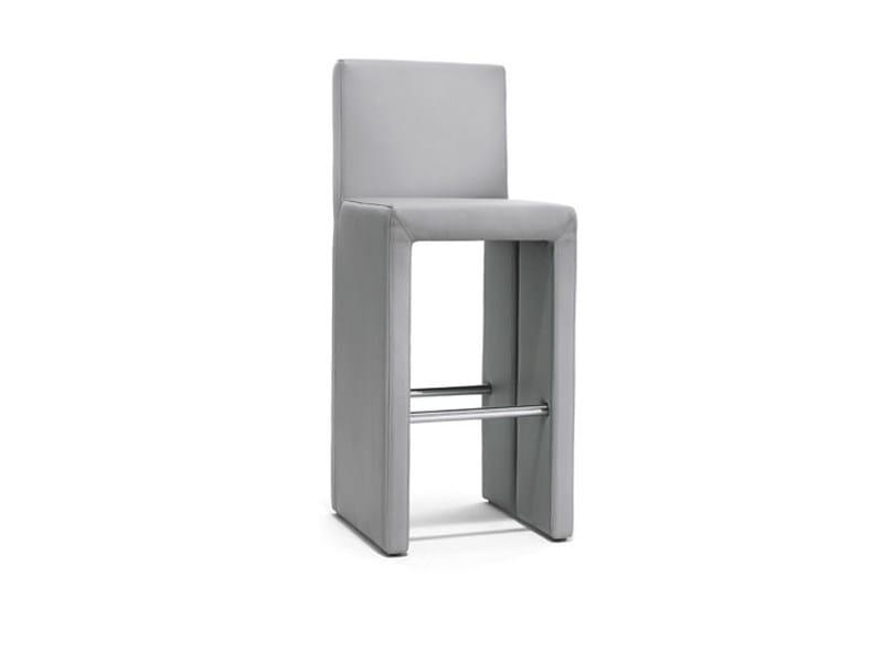High upholstered stool CORSO | Stool - Wittmann