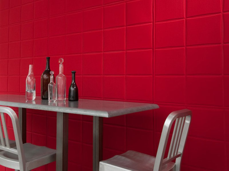Synthetic material wall tiles SMOOTH - Élitis