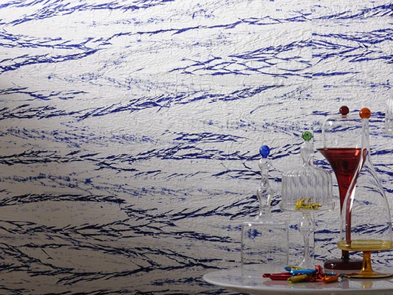 Paper yarn wall tiles BORACAI by Élitis