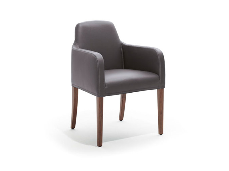 Upholstered chair ALMA | Chair by Wittmann