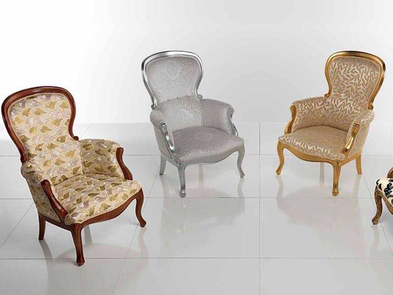 Upholstered armchair LA NONNA - Carpanelli Classic