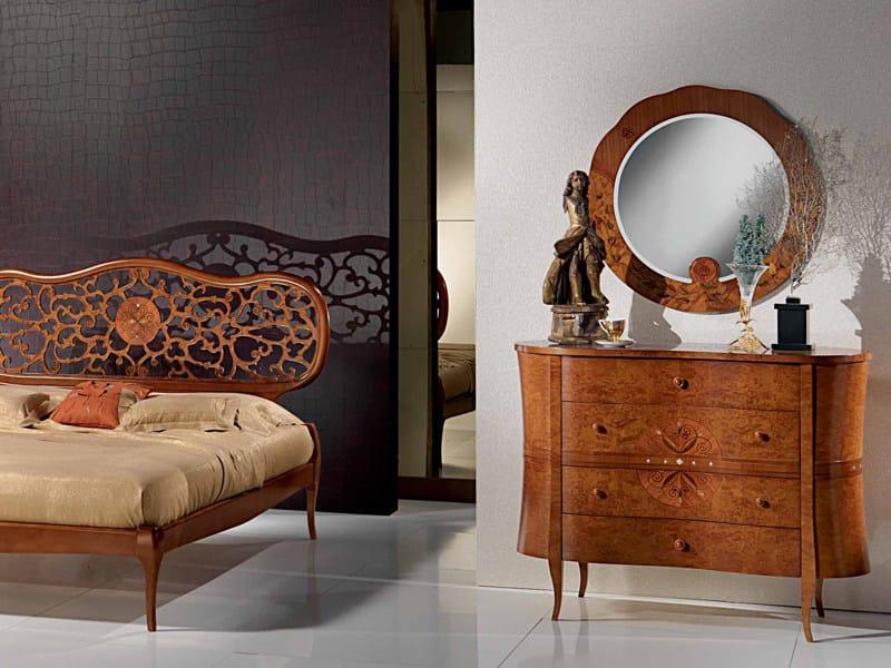 Letto matrimoniale in legno novecento letto in legno - Letto matrimoniale in legno ...