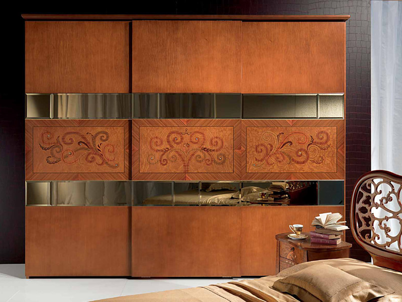 Classic style wardrobe with sliding doors 900 | Wardrobe with sliding doors - Carpanelli Classic
