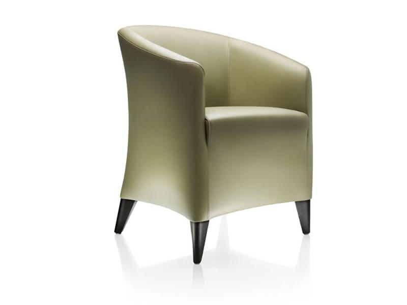 Upholstered armchair MINIMA by Wittmann