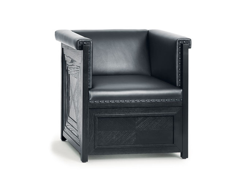 Upholstered armchair MUSIKZIMMER PURKERSDORF - Wittmann